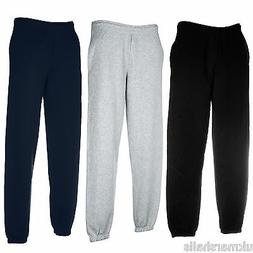 FRUIT OF THE LOOM ADULT JOG PANTS TRACKSUIT BOTTOMS JOGGERS