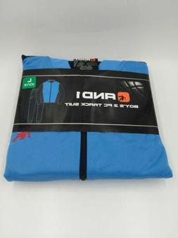 And1 Boys 2 Piece Forward Pass Track Suit Blue Size L  New