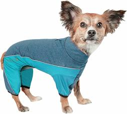 Pet Life Chase Pacer Quick-Dry 4-Way Stretch Full Body Yoga