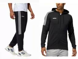 Adidas Climalite 3-stripes Mens Tracksuit Terry Hoodie Jogge