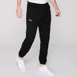 Slazenger Closed Hem Zip Pocket Fleece Pant Tracksuit Bottom
