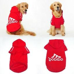 Dog Hoodie Adidog TrackSuit 8 XL New With Tags Dog Jacket