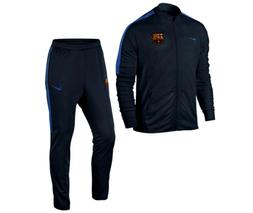 NIKE FC BARCELONA SQUAD YOUTH WOVEN TRACKSUIT Obsidian/Royal