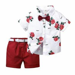 Gentleman Tracksuit For Boys Kids Clothes Sets Toddlers T-sh