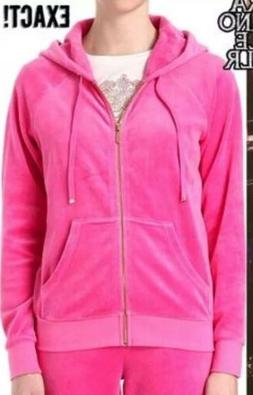 Juicy Couture Glamour Pink Hoodie & Straight Bling Pant Trac
