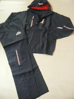 LONSDALE Goldswain Navy Hooded Tracksuit / Training Set Mens