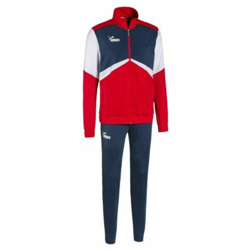 581599 11 mens colorblock retro tracksuit cl