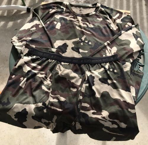 The North Flash Dry Men's Suit Camouflage Shirt & Tights