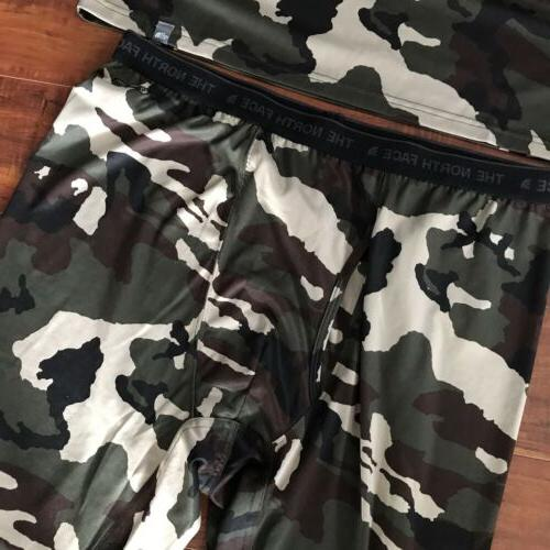 The Dry Warm Up Suit Camouflage Shirt Tights