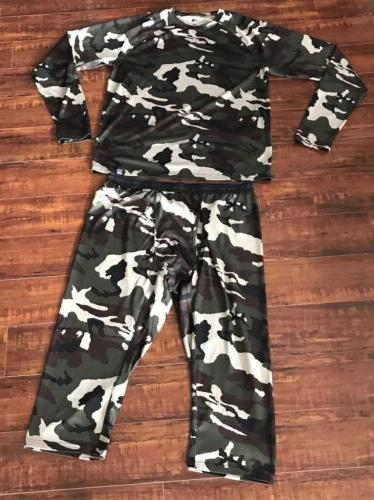 flash dry mens warm up suit camouflage