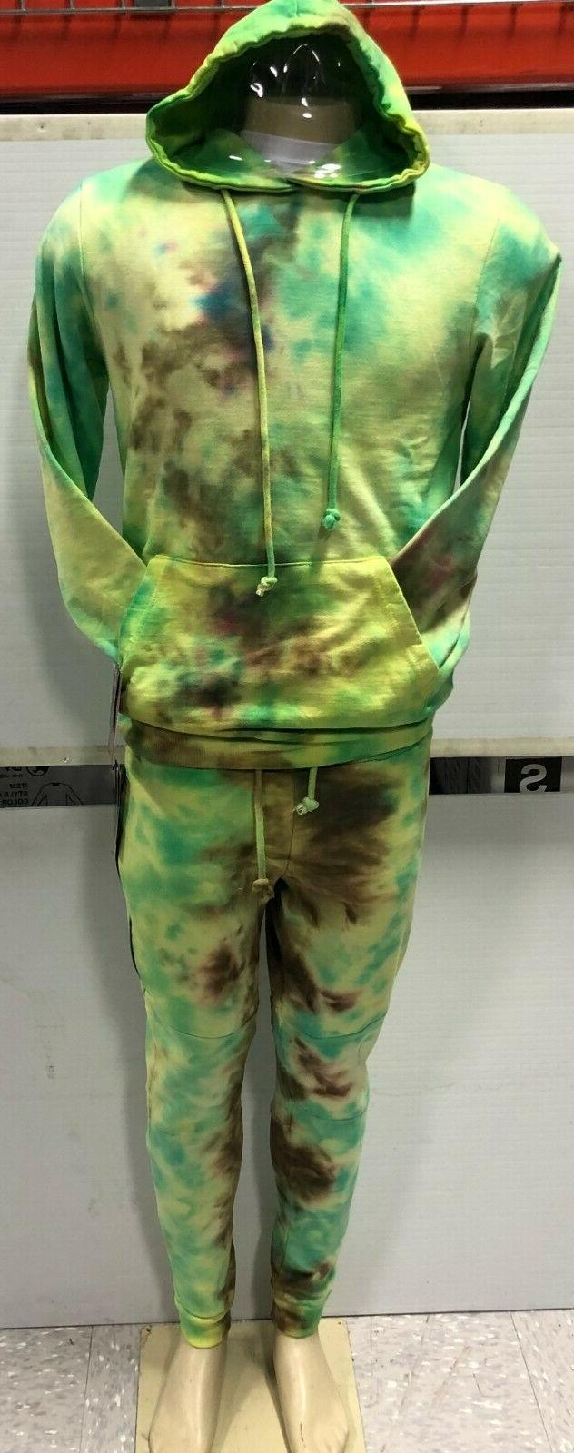 men s pullover ice dye hand made