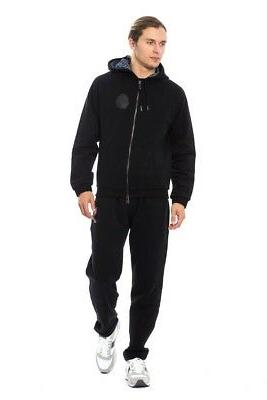 new 1300 couture tracksuit black cotton sweater