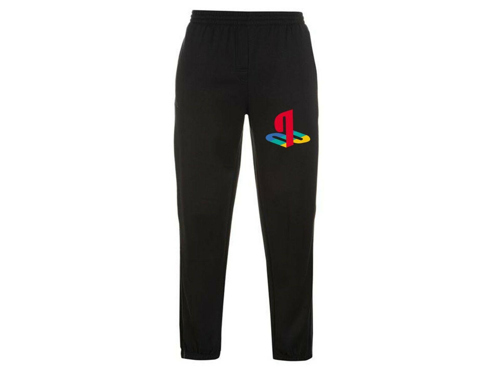 playstation console original video game logo joggers