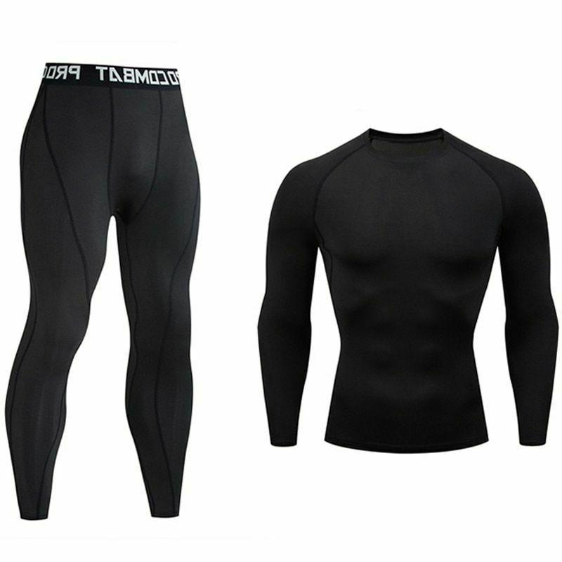 running tights sports suit outdoor jogging thermal