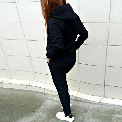 Womens Pants Sleeve Jogging Sport Outfits