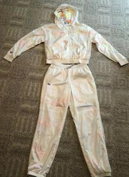 CHAMPION LIFE WOMEN'S RIPSTOP TRANSLUCENT TRACK SUIT -MED-RA