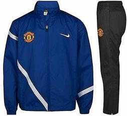 NIKE MANCHESTER UNITED YOUTH SIDELINE WOVEN WARM UP TRACKSUI