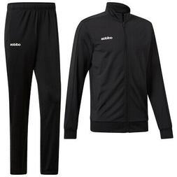Adidas Men's Basics Track Suit Black/Black XL