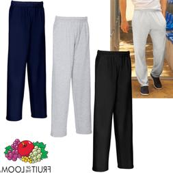 Fruit Of The Loom MEN'S JOG PANTS LIGHTWEIGHT SWEAT TRACKSUI