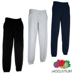 Fruit Of The Loom MEN'S PREMIUM SWEAT PANTS COMFY TRACKSUIT