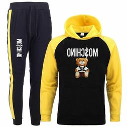 men's sweater suit sportswear hedging jogging training fashi