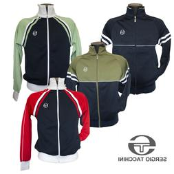 Sergio Tacchini Mens Retro Track Top Casual Tracksuit Jacket