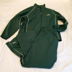 Men's Reebok Size Extra Large Tracksuit NWOT. GREEN