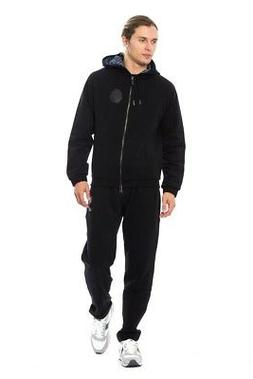 NEW $1300 BILLIONAIRE COUTURE Tracksuit Black Cotton Sweater