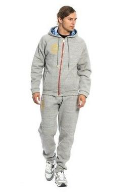 NEW $1300 BILLIONAIRE COUTURE Tracksuit Gray Cotton Sweater