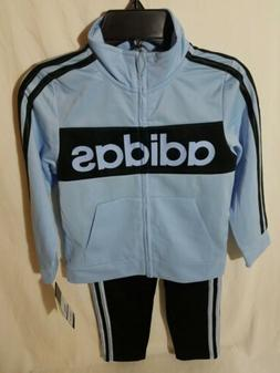 New Adidas Joggers Track Suit Size 5 Youth Boys Basketball W