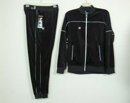 New Fila Men's Training Gym Velour Tracksuit Jacket Pants Se