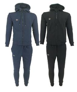 New Mens Time Is Money Foil Fade Full Tracksuit Zip Up Hoodi