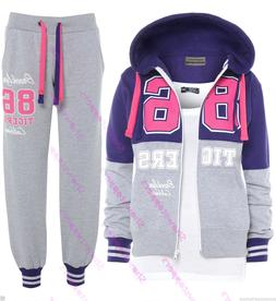 NEW Plus Size 16 18 20 22 24 Womens TRACKSUIT Hoodie POCKET