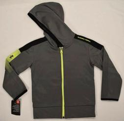 Under Armour Youth Boys 2pc Set Tracksuit Gray/Black Size 4