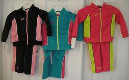 PUMA NWT Girls 2PC Track Suit Jacket Pant Top Warm Up 2 2T 3