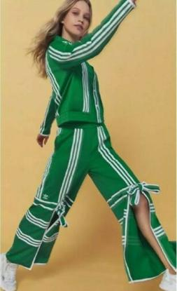 NWT KELLY GREEN TRACKSUIT S JACKET PANTS WITH TIES Sold Out