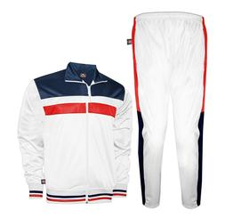 Prime Sport Mens Tracksuit Athletic Full Zip Casual Sports J