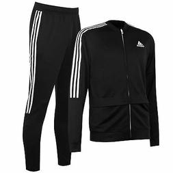 adidas Sereno Pro Tracksuit Set Mens Black Football Soccer J
