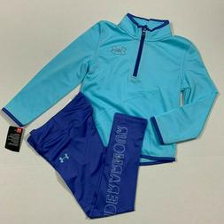 Under Armour Size 4 6 NWT Girls Teamster Track Suit Jacket L