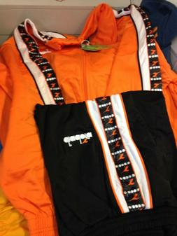 DIADORA TRACKSUITS POLYESTER ORANGE  BRIGHTAT £20 ALL SIZES