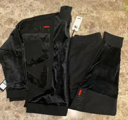 Fila Velour Tracksuit Mens Large Jacket And Pants