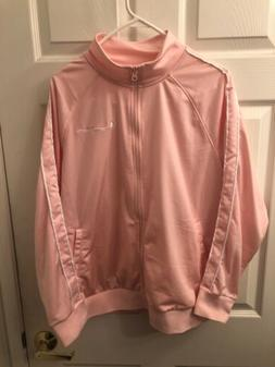 Champion Women's Plus Size 1X Track Suit Jacket Peach Msrp