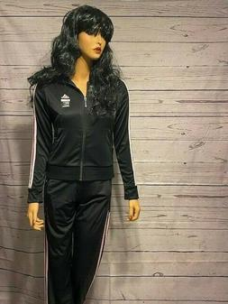 womens sports track suit jogging set new