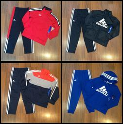 adidas Youth Boy's Multi-Color Tracksuit Size 4, 5, 6, 7 New